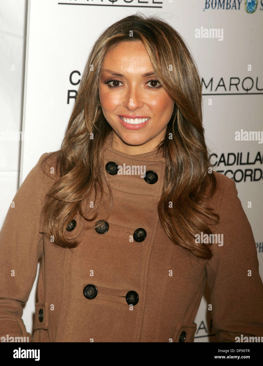 Dec 01, 2008 - New York, NY, USA - E! News anchor GIULIANA