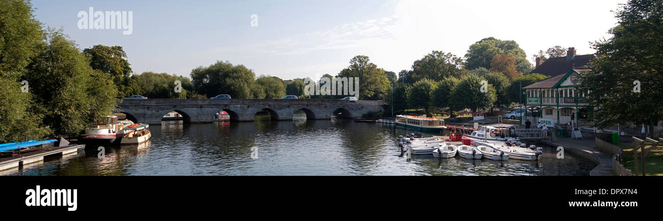 Stratford upon Avon Panoramic - Stock Image