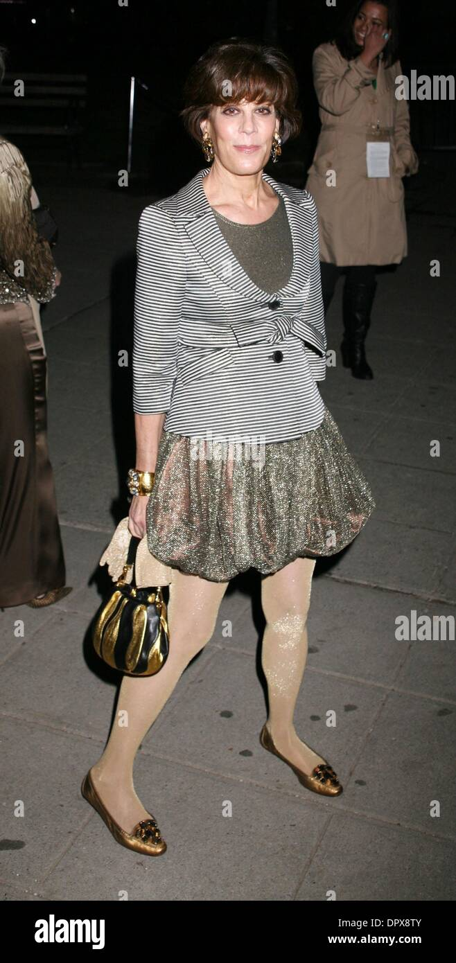Apr 21, 2009 - New York, New York, USA - Publicist PEGGY SIEGAL at the Vanity Fair Party held during the 2009 Tribeca Film Festival at the State Supreme Courthouse. (Credit Image: © Nancy Kaszerman/ZUMA Press) - Stock Image