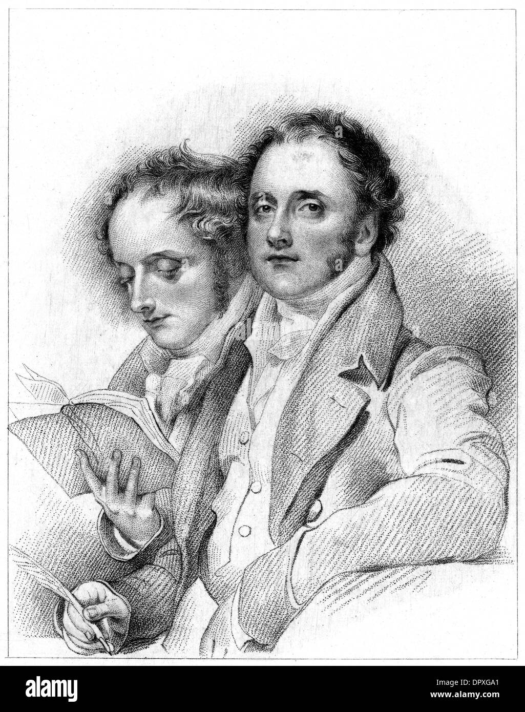 HORACE AND JAMES SMITH - Stock Image