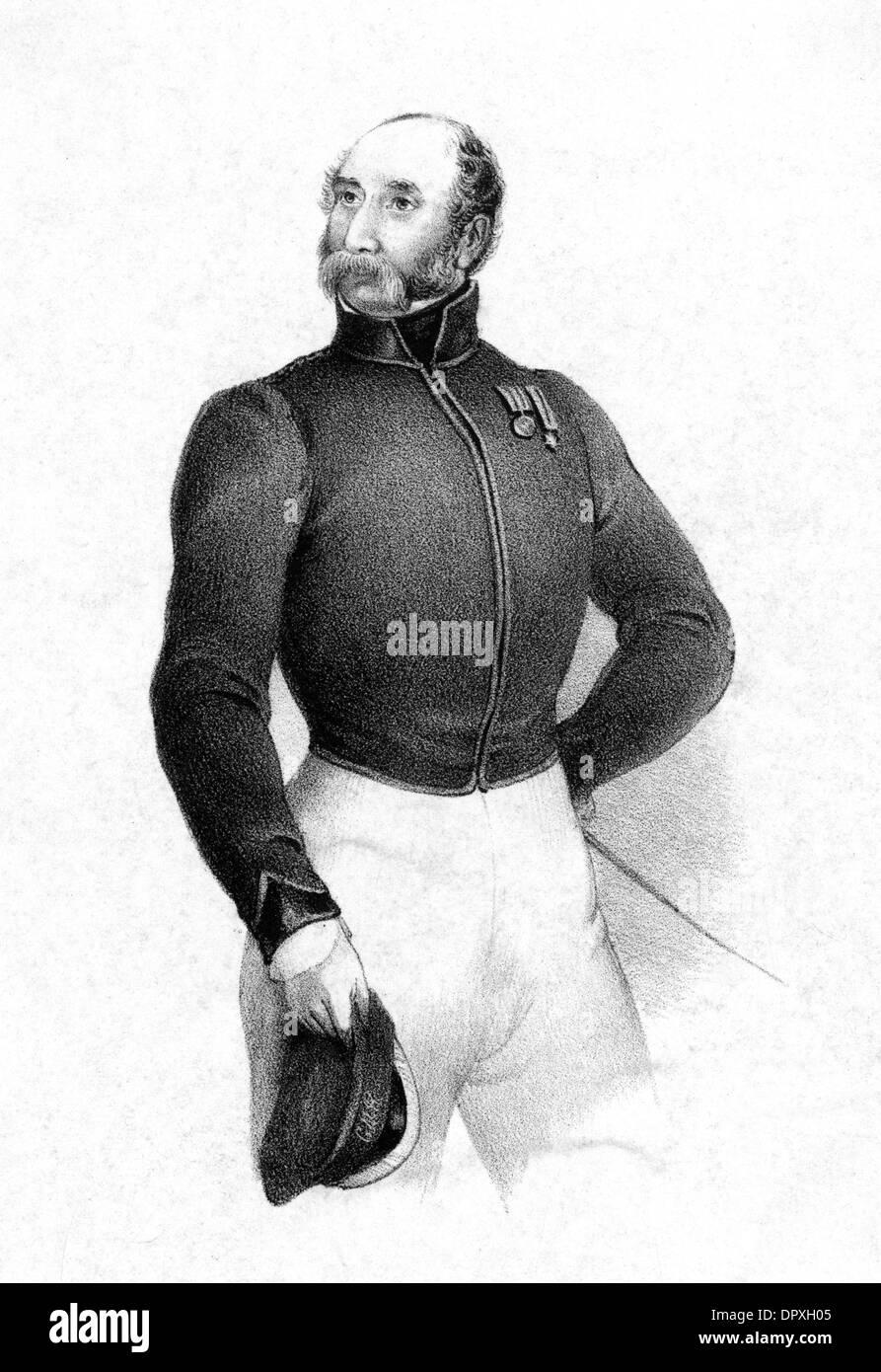 SIR HENRY SOMERSET - Stock Image