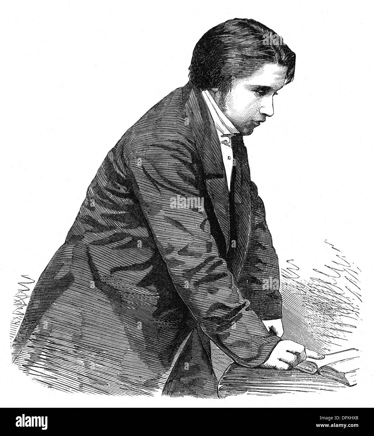 SPURGEON AGE 23 - Stock Image