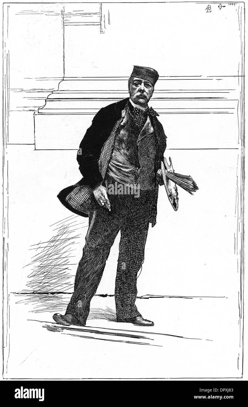ALFRED STEVENS - 2 - Stock Image