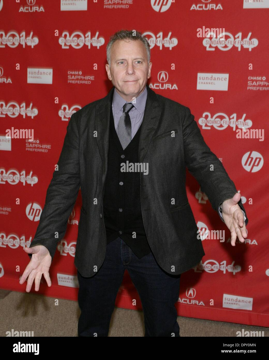 Park City, UT, USA  16th Jan, 2014  Paul Reiser at arrivals