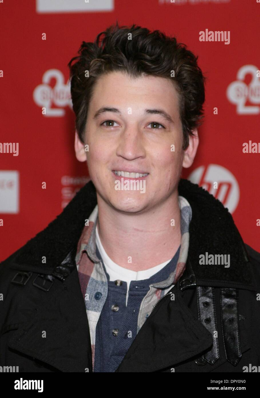 Park City, UT, USA  16th Jan, 2014  Miles Teller at arrivals
