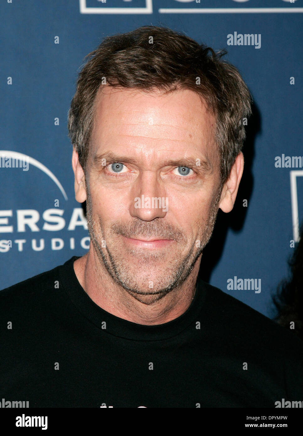 Jan 21, 2009 - West Hollywood, California, USA - Actor HUGH LAURIE arriving to the House' 100th Episode Party held at the STK. (Credit Image: © Lisa O'Connor/ZUMA Press) - Stock Image