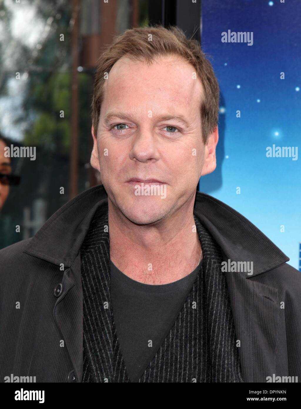Mar 22, 2009 - Universal City, California, USA - Actor KIEFER SUTHERLAND arriving to the 'Monsters VS Aliens' Los Angeles Premiere held at the Gibson Amphitheatre. (Credit Image: © Lisa O'Connor/ZUMA Press) - Stock Image