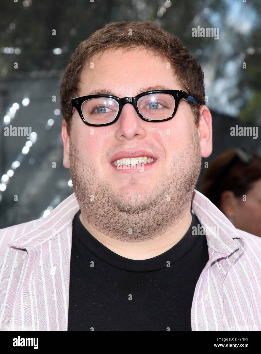 Mar 22, 2009 - Universal City, California, USA - Actor JONAH HILL arriving to the 'Monsters VS Aliens' Los Angeles Premiere held at the Gibson Amphitheatre. (Credit Image: © Lisa O'Connor/ZUMA Press) - Stock Image