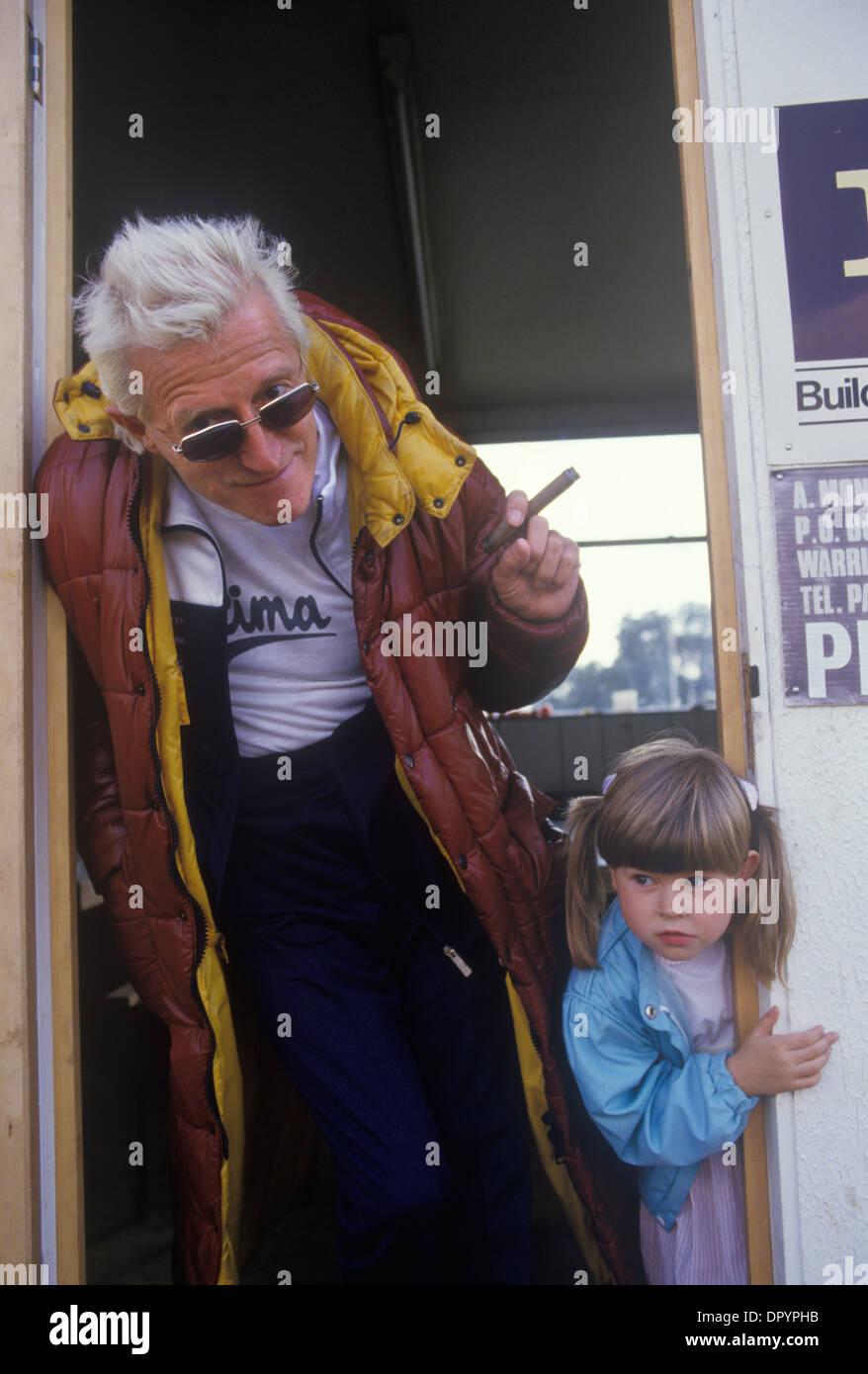 Wonderful Jimmy Savile And Pre Teen Girl 1980s UK HOMER SYKES   Stock Image