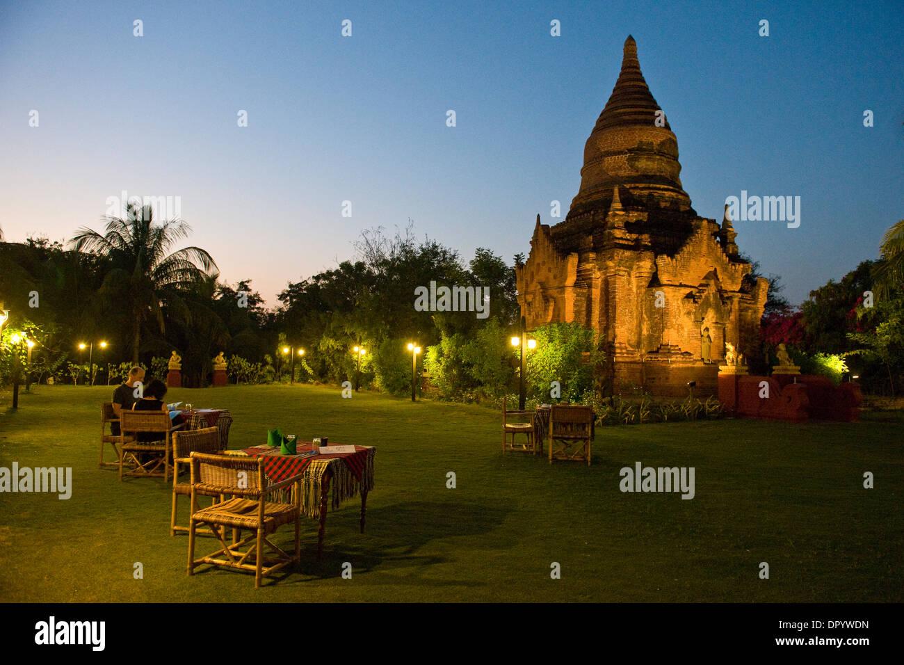 Myanmar, Bagan, Thazin Garden Hotel Stock Photo: 65766225 - Alamy