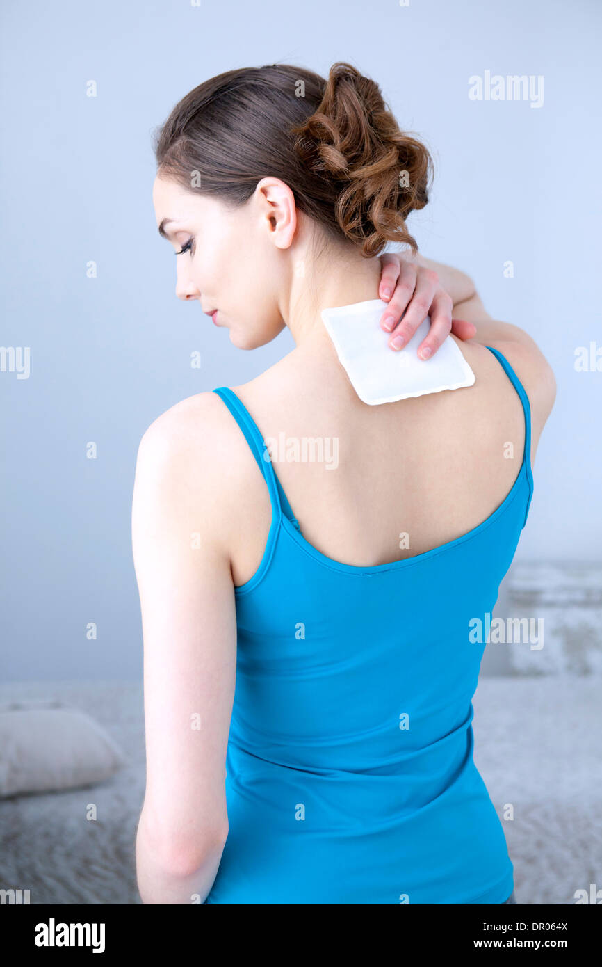 HOT THERAPY WOMAN - Stock Image