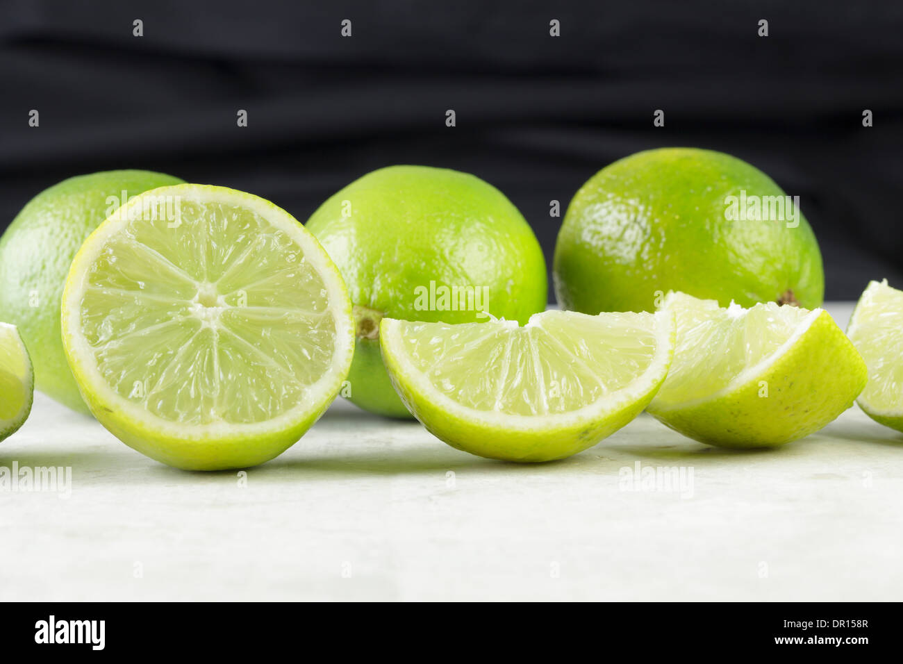 Limes - Stock Image