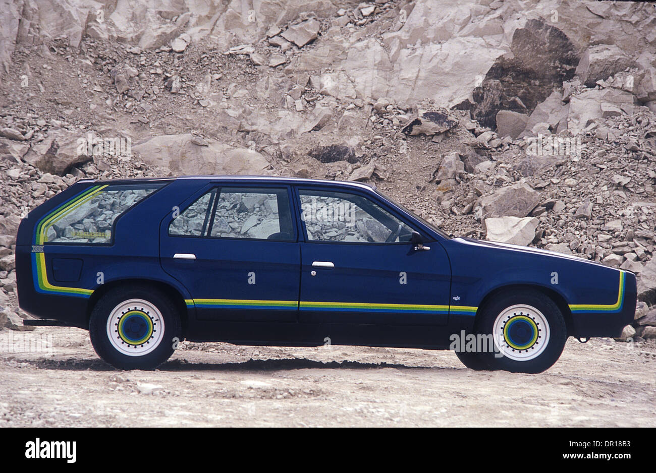 Ogle Design Triplex Glassback 10/20 show car British Leyland Princess 1978 - Stock Image