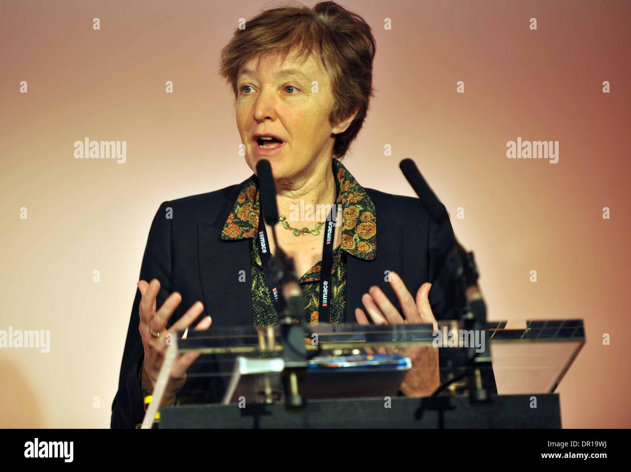 Runways UK conference, London. Britain, UK. Baroness Jo Valentine. - Stock Image