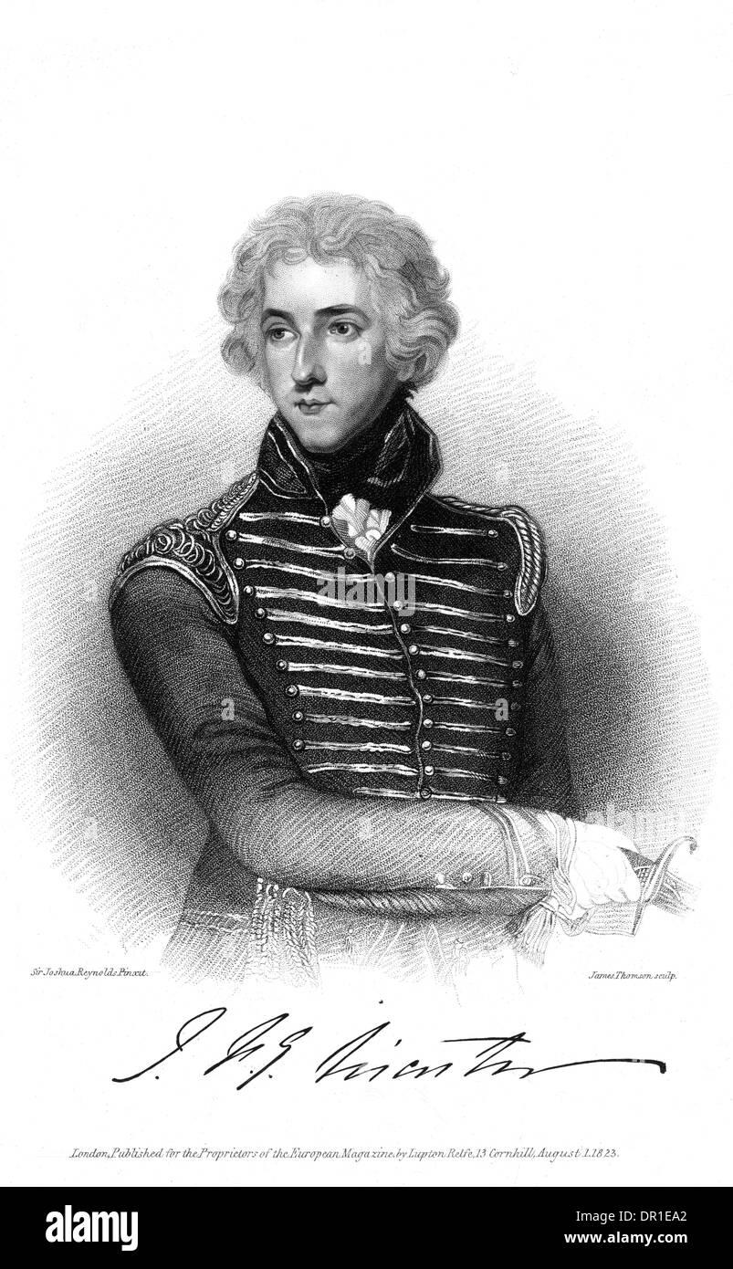JOHN BARON DE TABLEY - Stock Image
