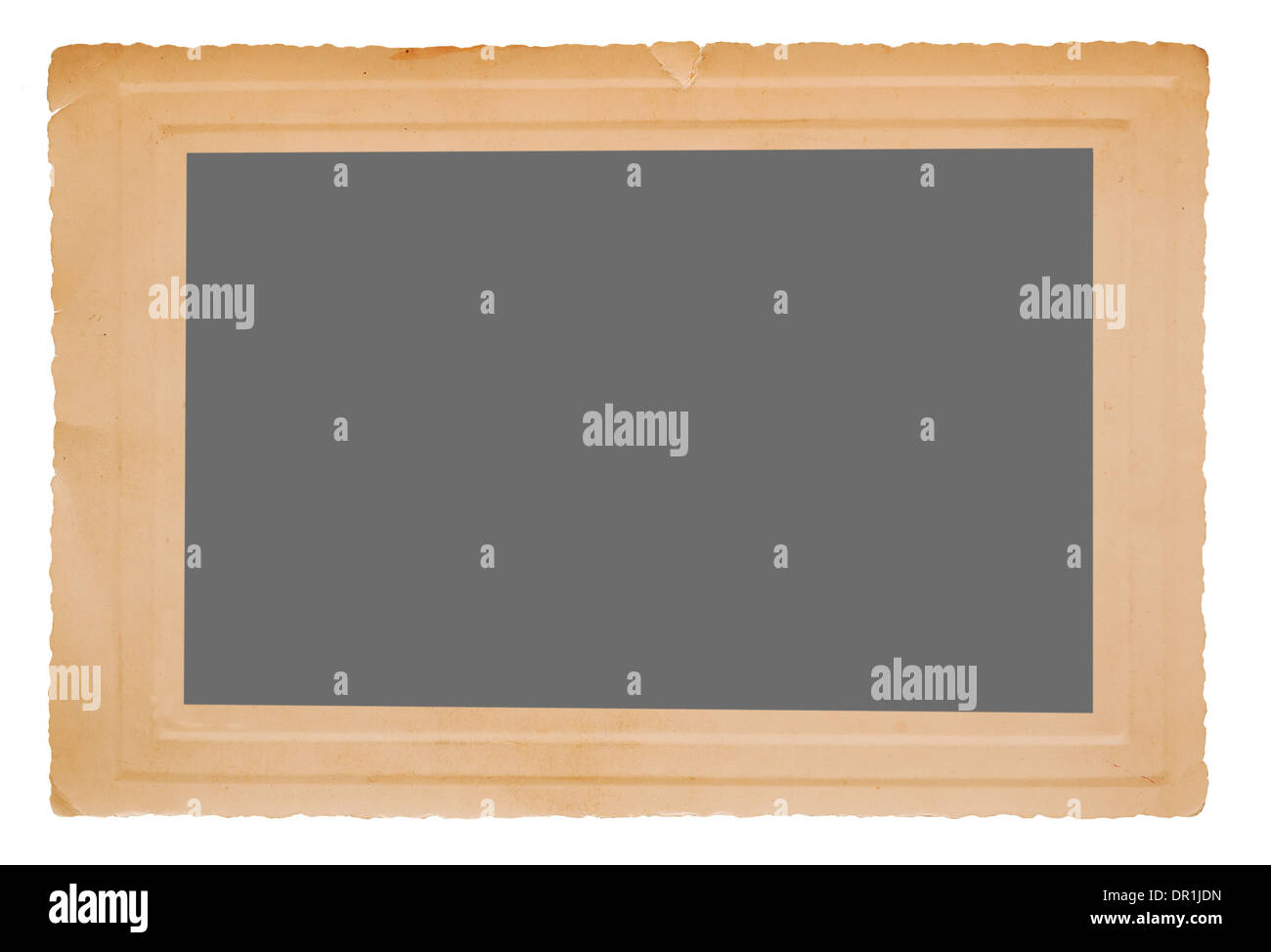 Old frame with empty space - Stock Image