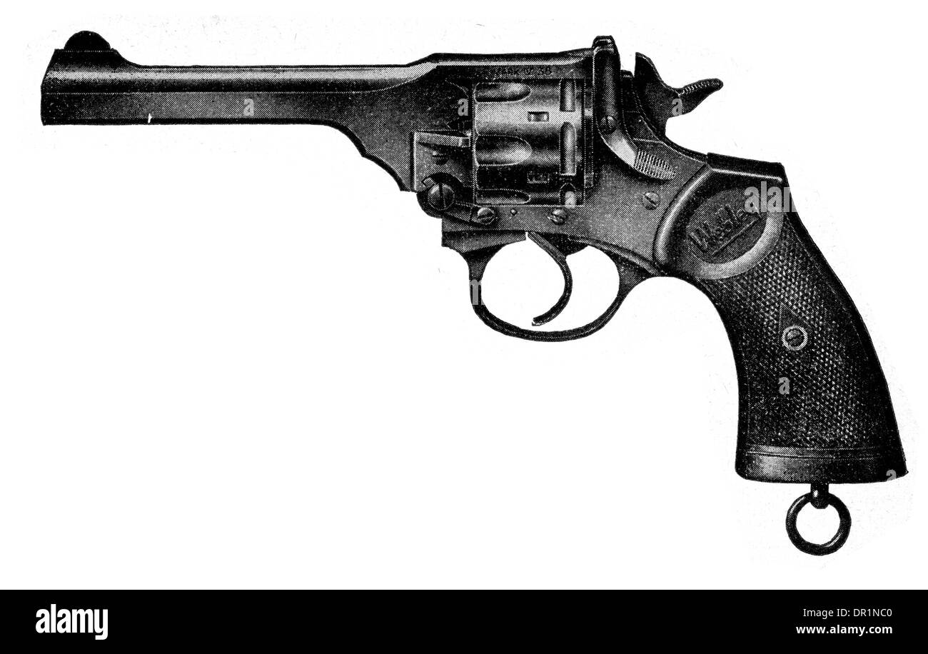 Webley mark iv military and police revolver 38 calibre stock photo webley mark iv military and police revolver 38 calibre thecheapjerseys Image collections