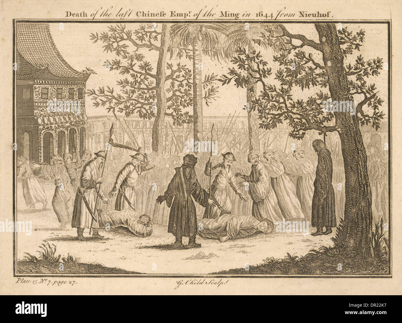 END OF MING DYNASTY - Stock Image