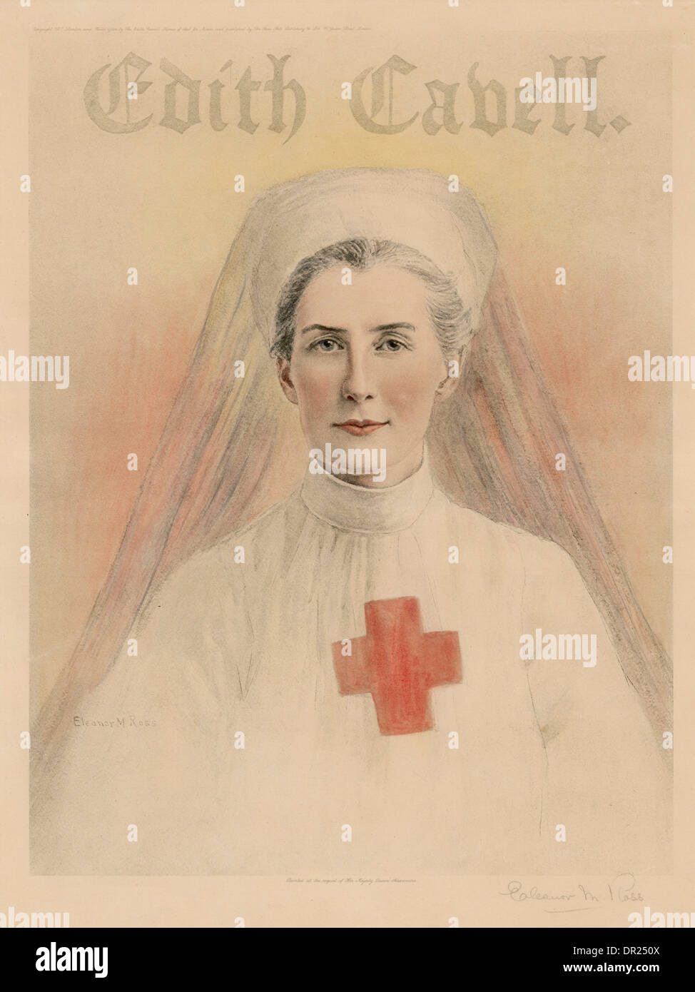 EDITH CAVELL - Stock Image