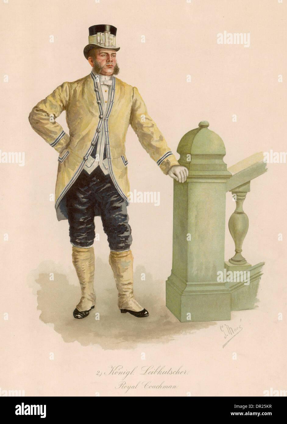 ROYAL COACHMAN (GERMAN) - Stock Image