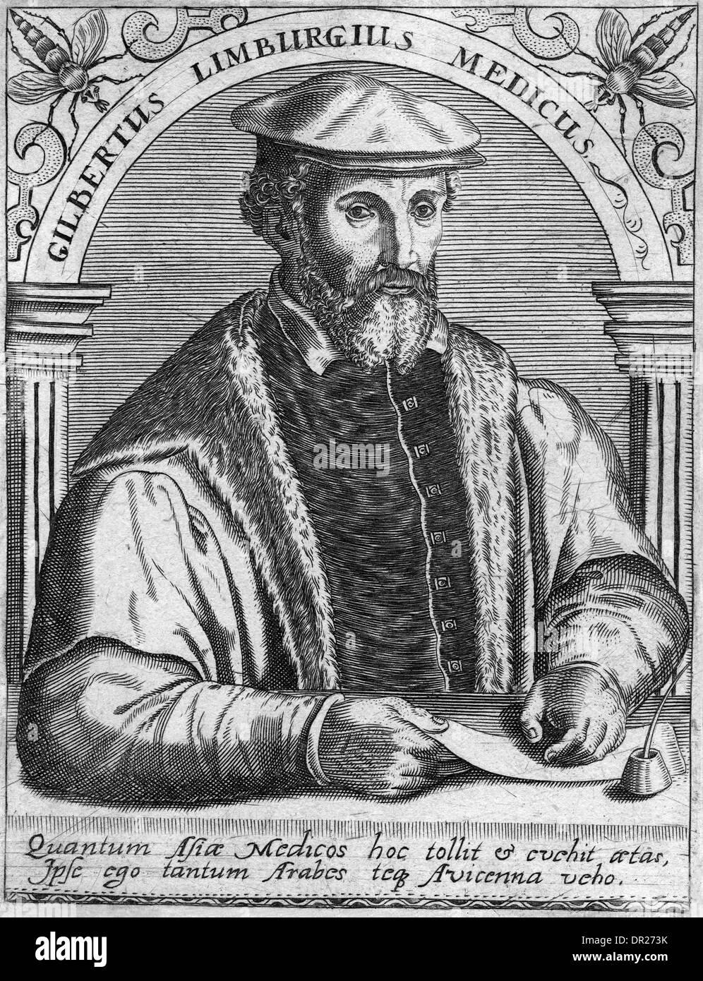 GILBERT OF LIMBURG - Stock Image
