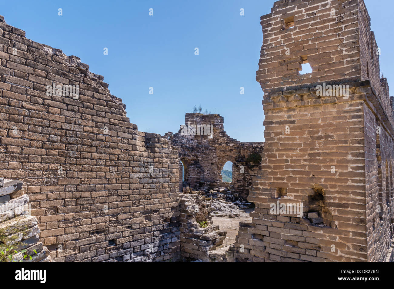 Jinshanling Great Wall, Hebei Province, China - Stock Image