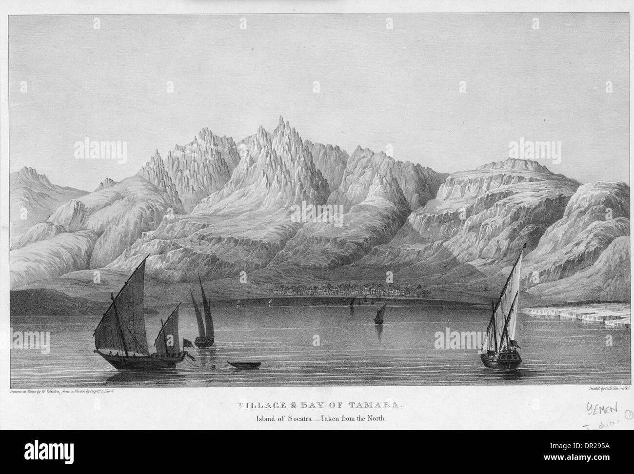 SOKOTRA, YEMEN - Stock Image