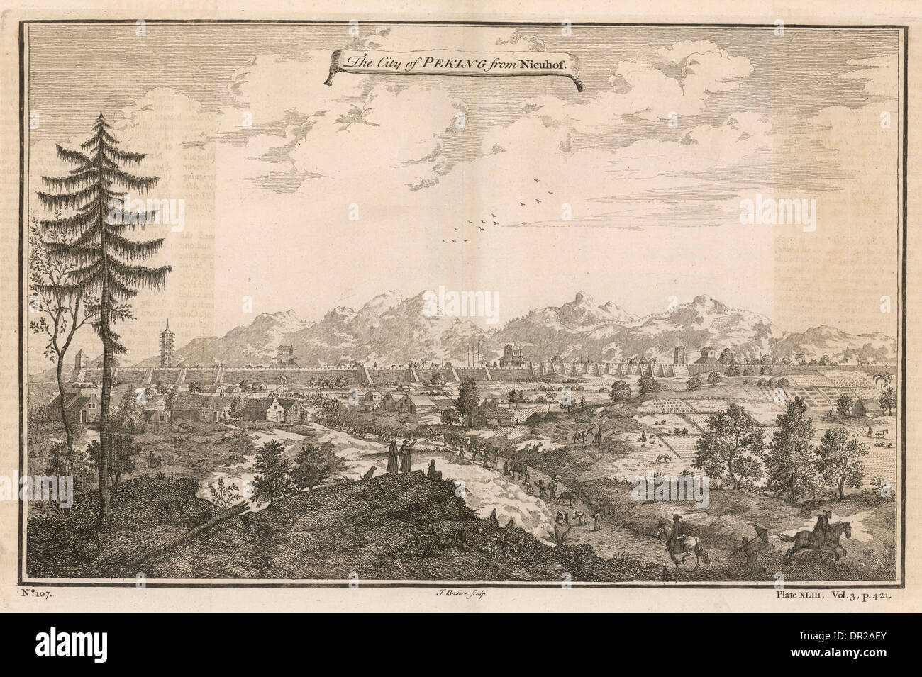 BEIJING 17TH CENTURY - Stock Image