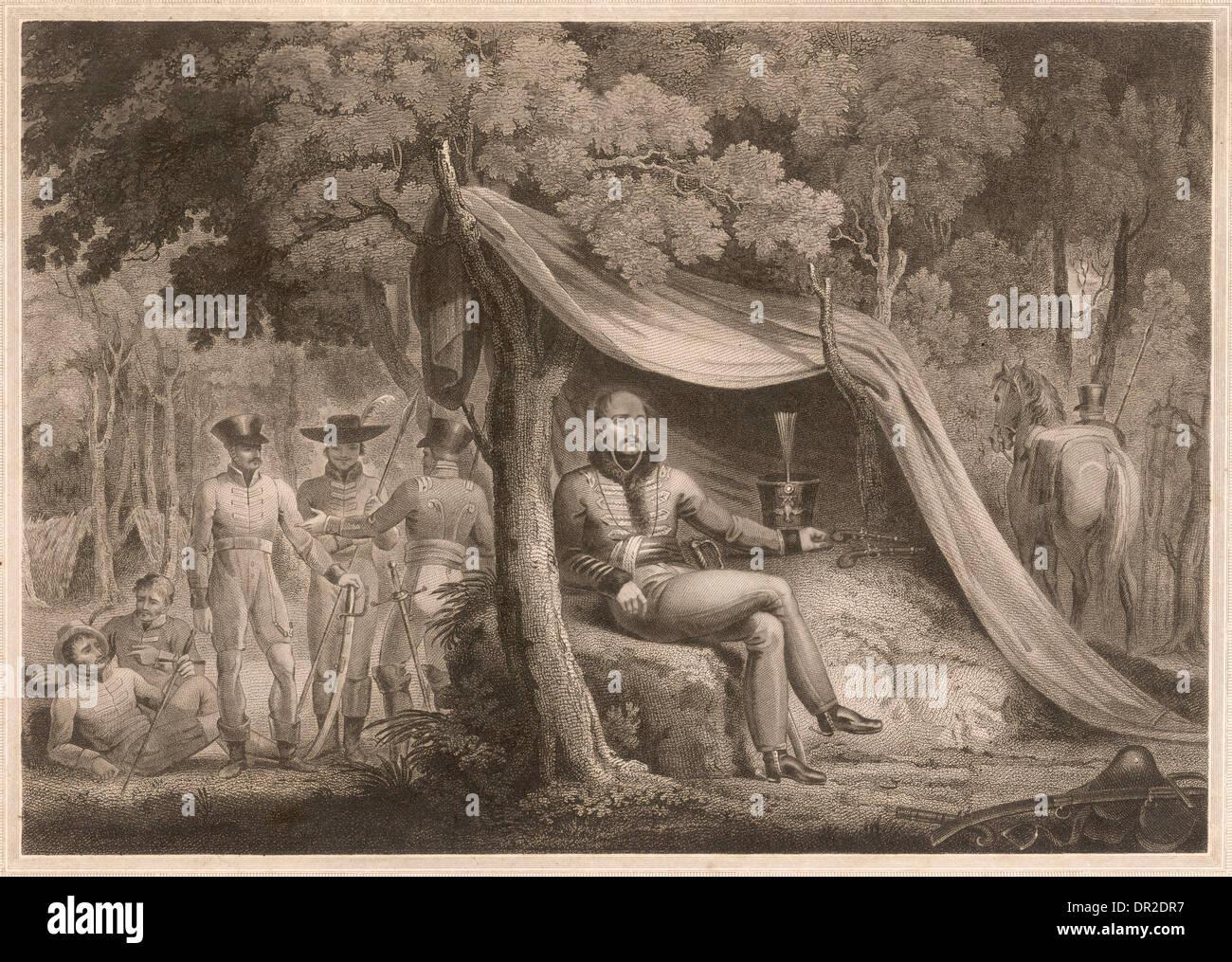 GENERAL JULIEN SANCHEZ - Stock Image