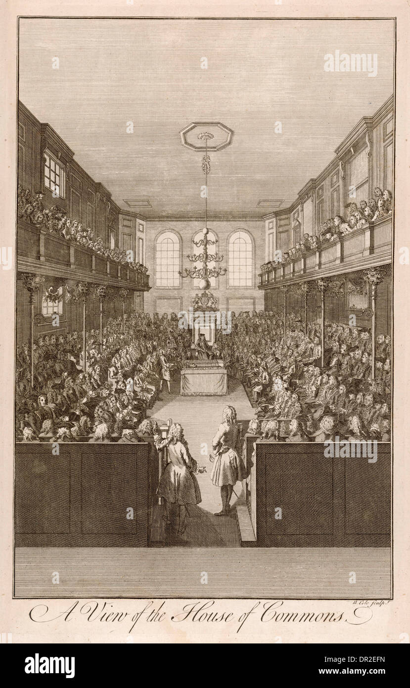 COMMONS 18TH CENTURY - Stock Image