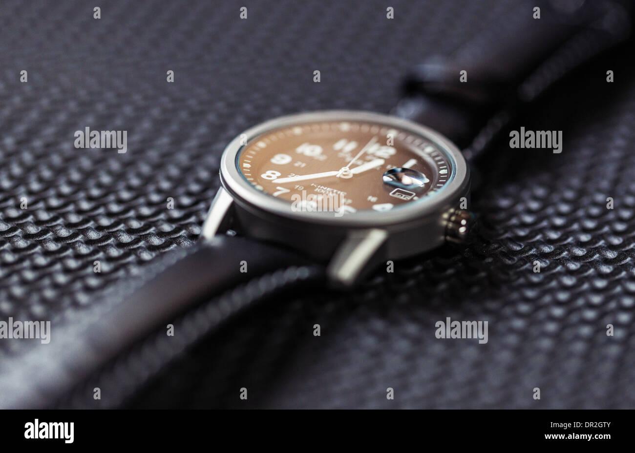 Men's wrist watch - Stock Image