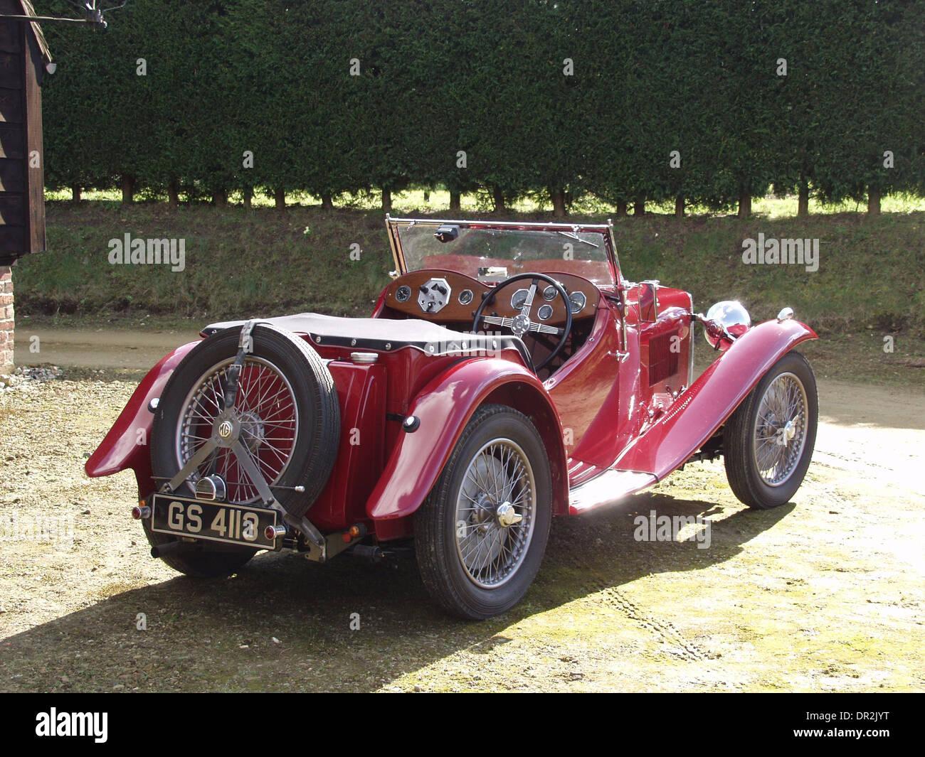 MG K2 MAGNETTE - PRE WAR CAR 1930s - Vintage - Stock Image