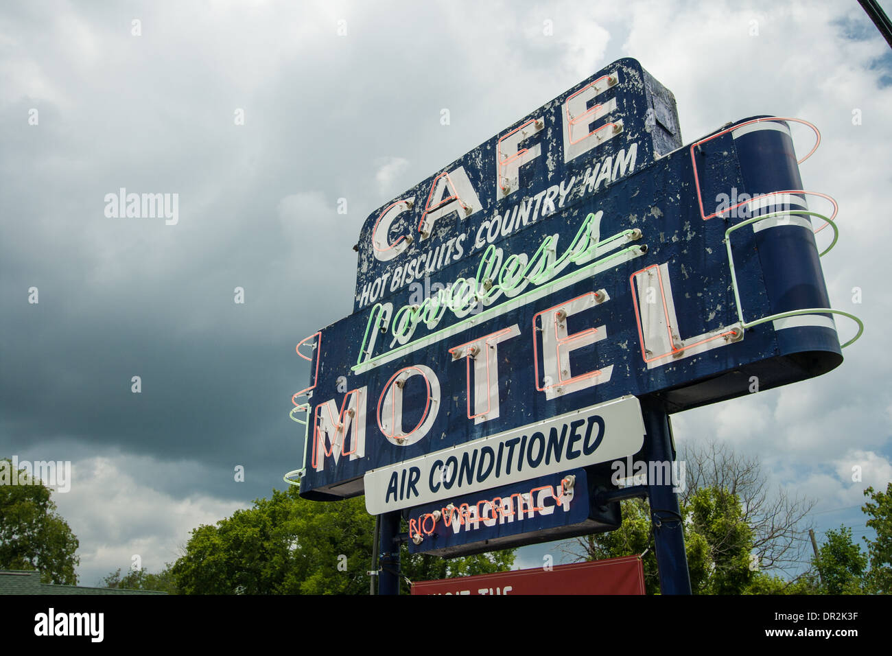 Loveless Café, Nashville, Tennessee - Stock Image