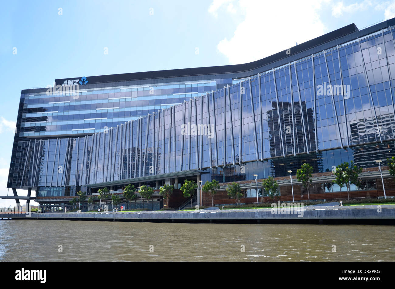 anz melbourne office. The Global Headquarters Of ANZ Bank On Yarra River In Victoria Harbour, Melbourne - Anz Office