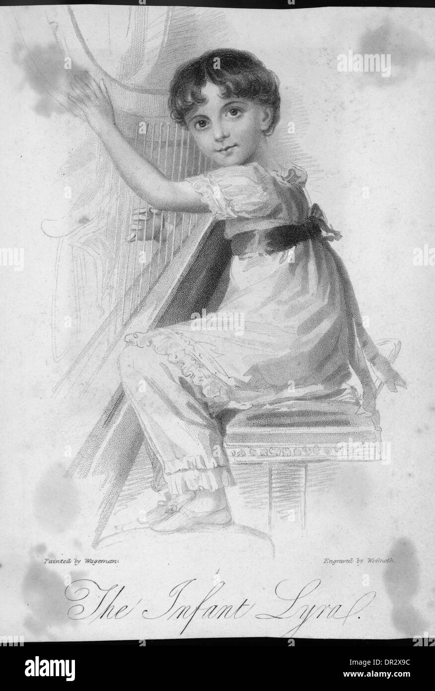 MUSICAL PRODIGY - Stock Image