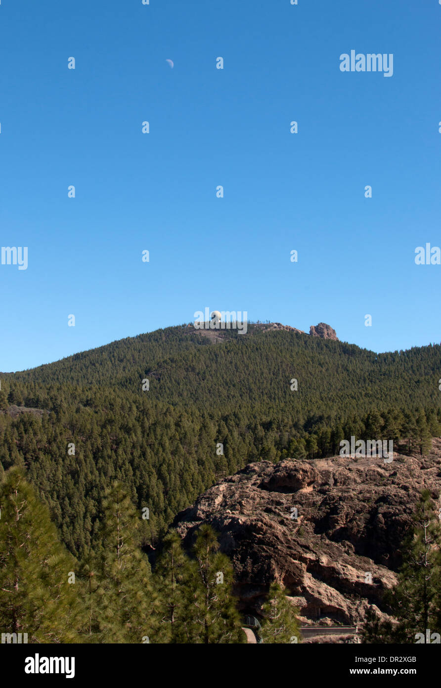 Gran Canria GTC Observatory Telescopio Canarias - Stock Image