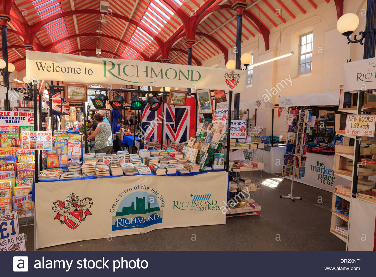 Richmond North Yorkshire England Stock Photo