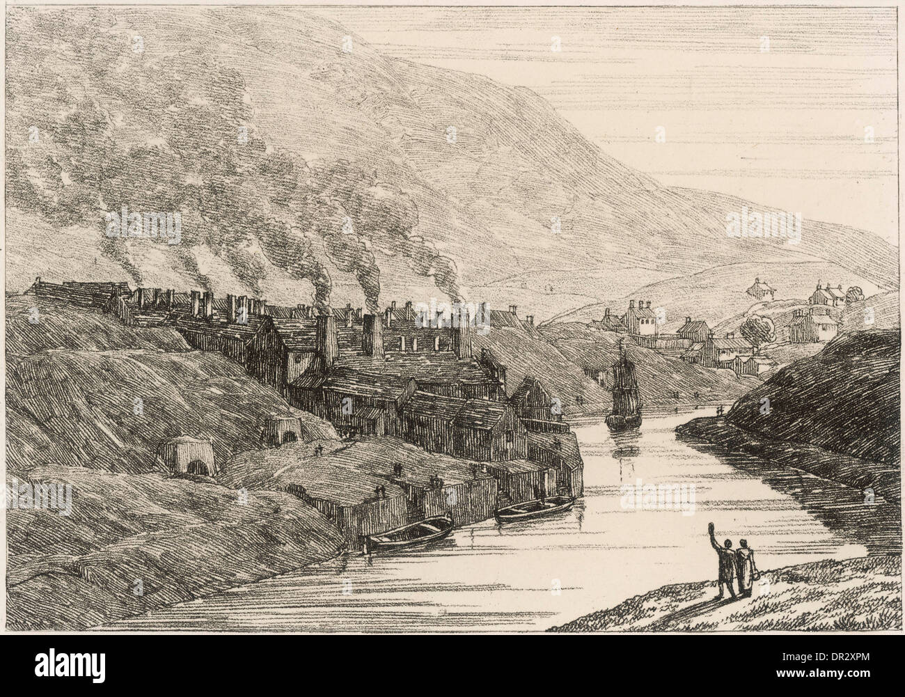 COPPER WORKS - Stock Image