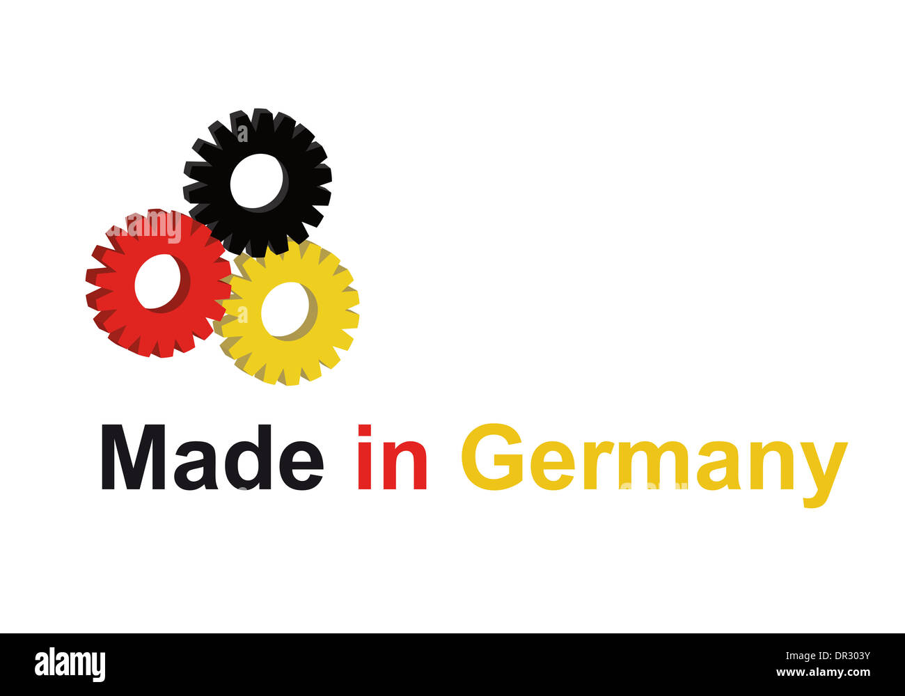 made in germany - Stock Image