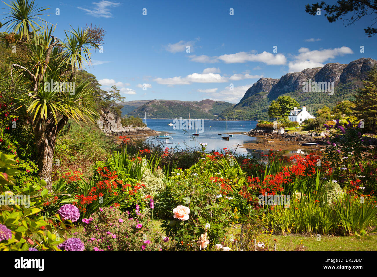 Plockton, Lochalsh, Highlands of Scotland - Stock Image