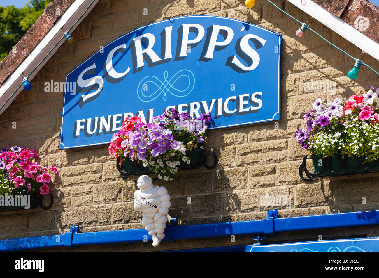 Scripps Funeral Services Goathland Scarborough North Yorkshire Stock