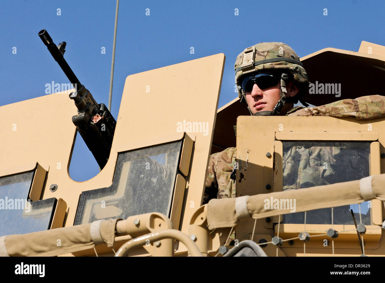 U.S. Army soldier - Stock Image