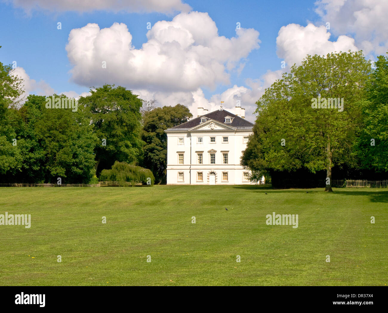 Marble Hill House Twickenham London England - Stock Image