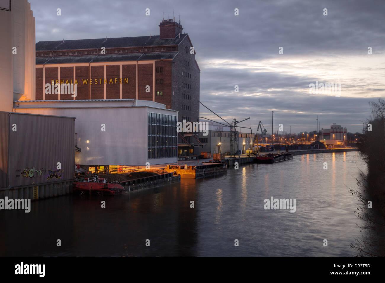 Behala Westhafen, Berlin, Germany Stock Photo