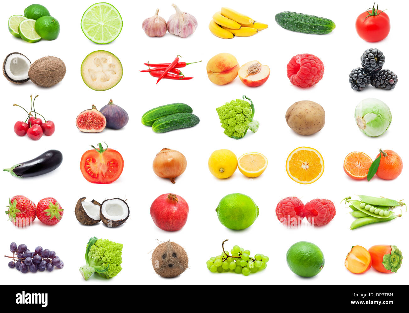 Fruits and Vegetables - Stock Image