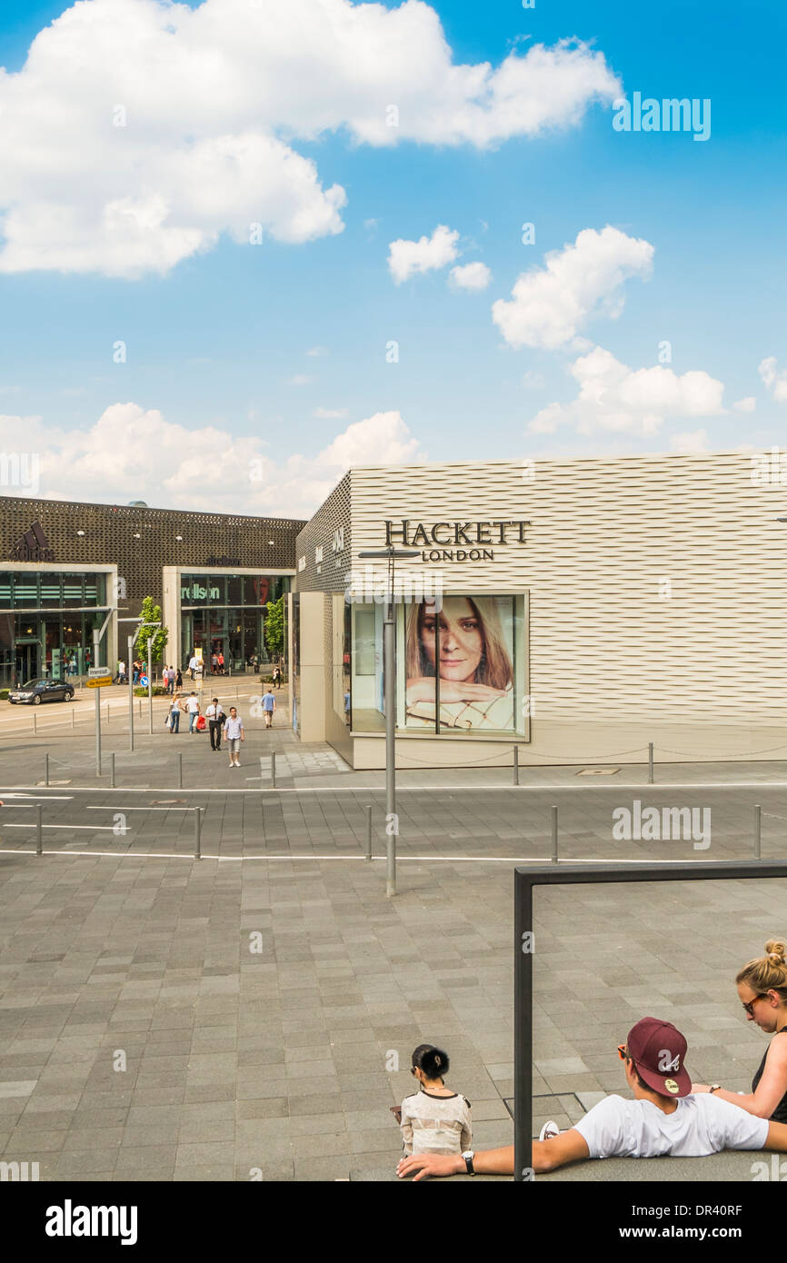 hackett  london outlet store, outlet city, metzingen, baden-wuerttemberg, germany - Stock Image