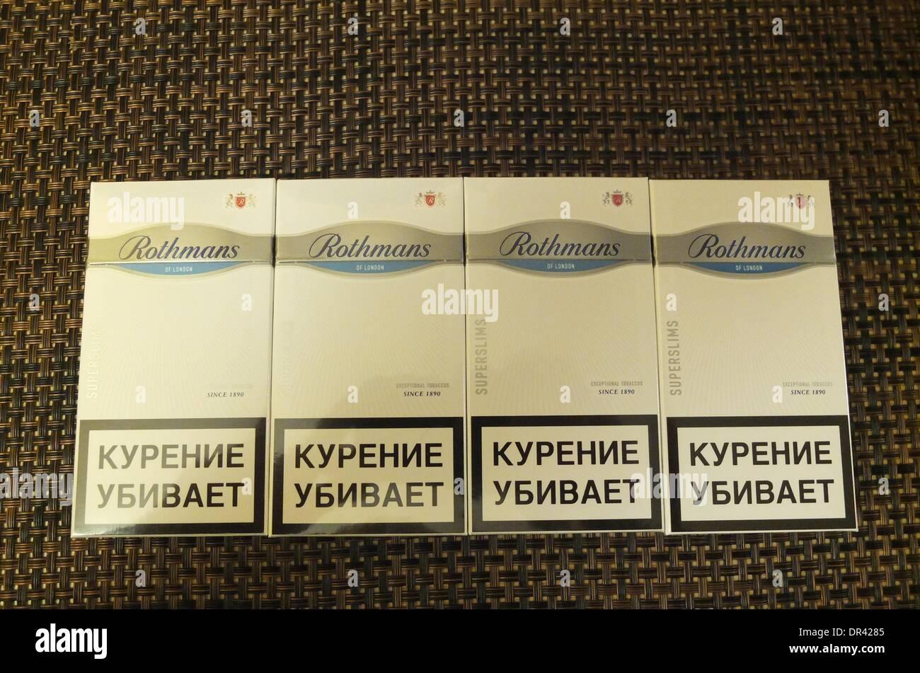 Rothmans cigarette types
