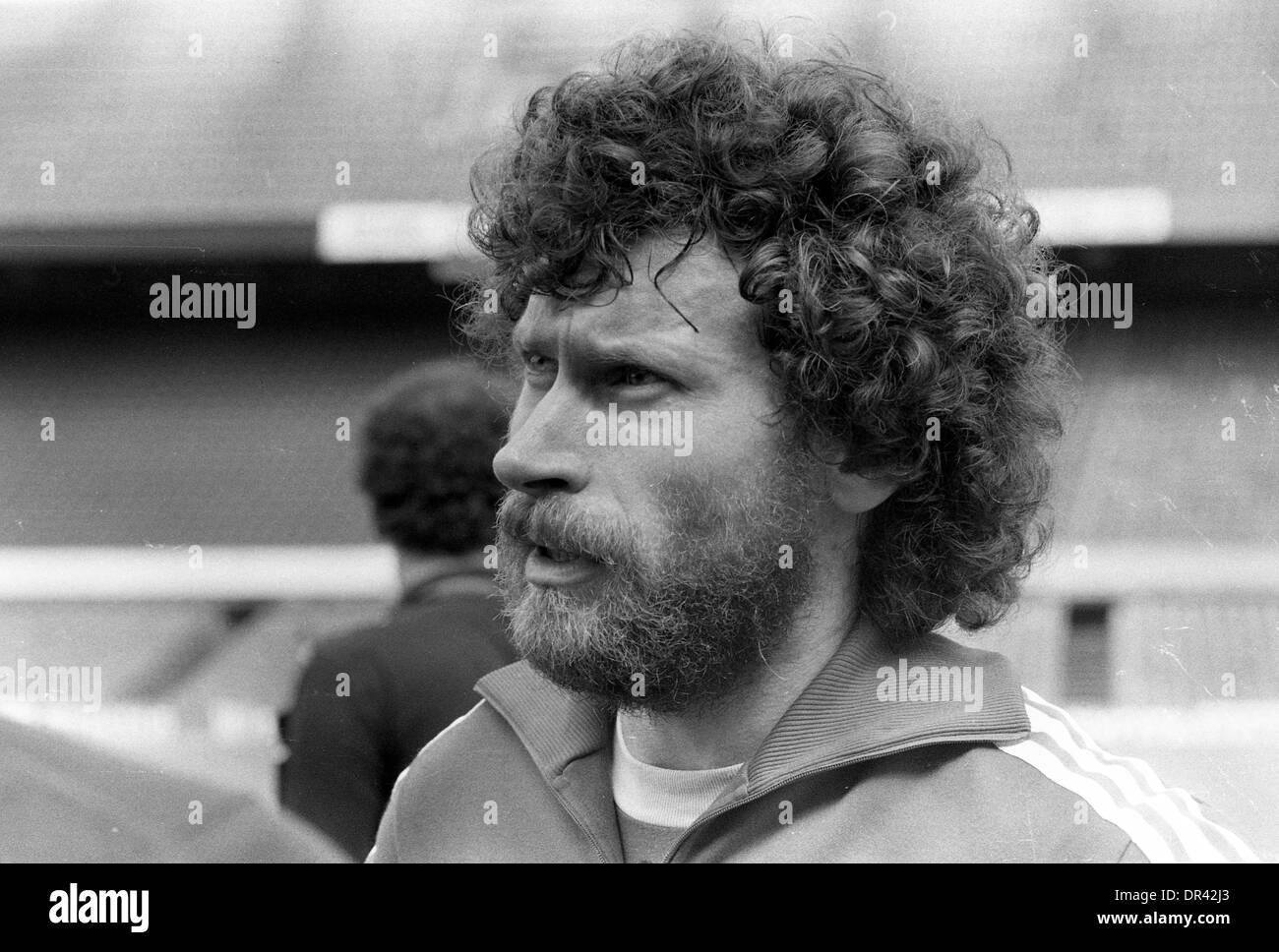 Paul Breitner footballer 1982 - Stock Image