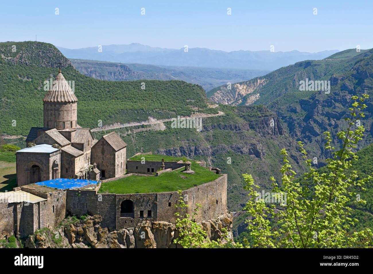 Tatev Monastery, Armenia - Stock Image