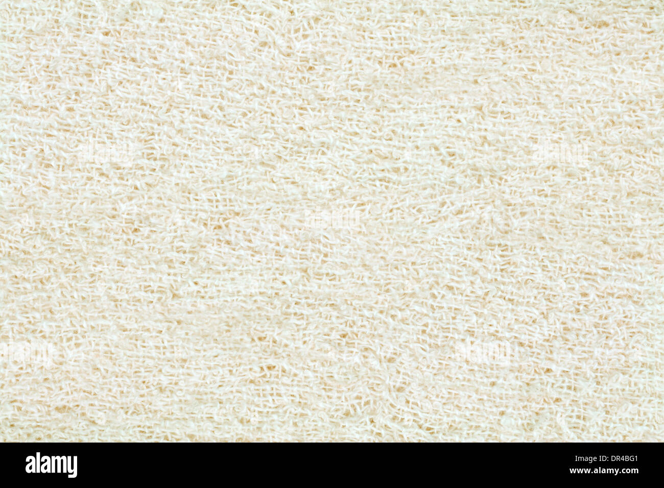 Cotton Bandage Surface Texture Background - Stock Image